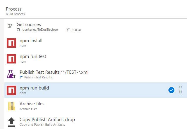VSTS Build Process